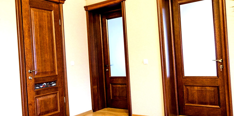 Межкомнатных двери со стеклом